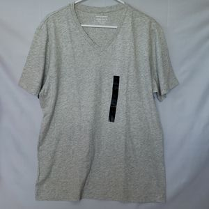 BR Mens Premium Wash T-Shirt- Grey - Large